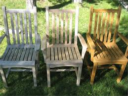 Great Aged Teak Outdoor Furniture Care And Maintenance