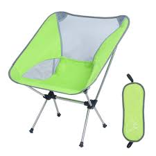 [kitsmall]backpacking Chair Folding Camping Chair With Carry Bag For Hiking  Beach By Kits Mall