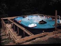 Amazing Pallet Pool Deck