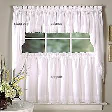 Brylane Home Kitchen Curtains by Amazon Curtains Eyelet Silk Sheer With Butterfly Embroidery By D