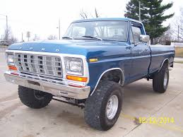 1978 Ford F-150 Custom 460 V8, 4-speed, 4x4 - Classic Ford F-150 ...
