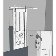 WinSoon Wood Door Gate Lock Pull Solid Stainless Steel Pertaining