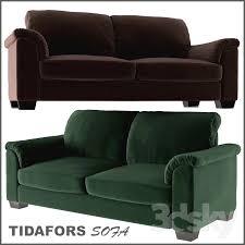 Ikea Tidafors Sofa Bed by 3d Models Sofa Tidafors Two Seat Sofa