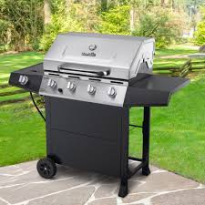 Char Broil Patio Bistro Electric Grill Manual by Char Broil 4 Burner Gas Grill Stainless Steel Black Walmart Com