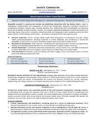 Operations Management Resume Examples Fresh Executive Summary Resume