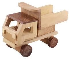 100 Truck Pull Games Wooden TipperDump Toy In Bulk Wholesale Hand Carved 72