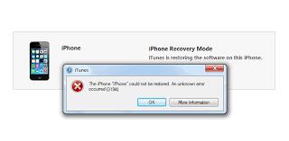 Fix iTunes Error 3194 While Restoring or Updating iOS