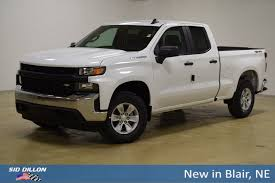 New 2019 Chevrolet Silverado 1500 Work Truck Extended Cab In Blair ...