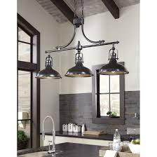 kitchen 3 light kitchen island pendant home interior design