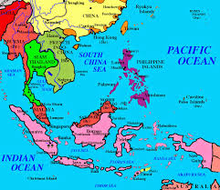 Pink Areas Were The Dutch East Indies