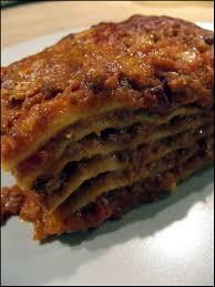 les vraies lasagnes à la bolognaise a la table de gaelle