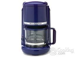 Cobalt Blue KitchenAid Coffee Maker