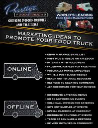 Highly Effective Food Truck Marketing Ideas | Prestige Custom Food ... 5 Menu Ideas For New Food Truck Owners Themes And Inspiration Food Pinterest Wedding Guide To Planning Catering Logistics Style Logo Cool Trailers Motorised Vansjpg Website Mobile The Ownersdg Reception Trucks Design Youtube Lego Product Revolution In India Ek Plate Of 92 Van Designs Ft 3 Delpolo Americas Amazing Asian Girl U Stance On White Chinese