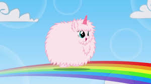 Pink Fluffy Unicorns Dancing On Rainbows Images