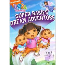 dora the explorer super babies dream adventure dvd video target