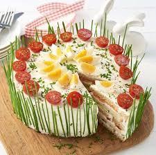 frischkäse lachs torte