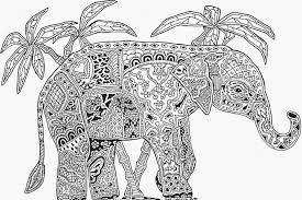 Free Coloring Pages Of Mandala Elephants