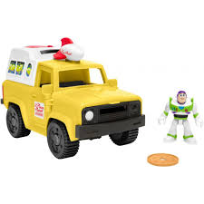 100 Pizza Planet Truck Imaginext DisneyPixar Toy Story 4 Buzz Set