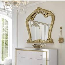 wandspiegel spiegel barock gold flur diele schlafzimmer deko