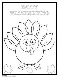 Thanksgiving Coloring Page By Innovative Teacher