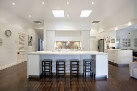 Galley Kitchen With Island Bench Modern Design In Size 1200 X 800