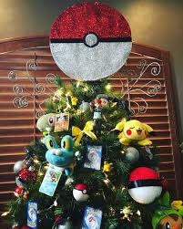 Nightmare Before Christmas Tree Toppers Bauble Set by Pokemon Themed Christmas Tree Christmas Winter Pinterest