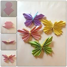 Craft Ideas From Paper Butterflies Stained