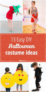 Easy DIY Halloween Costume Ideas