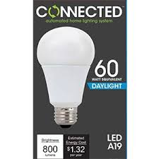 tcp 60w equivalent daylight 5000k a19 smart led light bulb