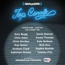 Siriusxm Canada Halloween Channel by Experience Siriusxm U0027s Top Comic Tour
