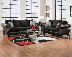 highclere onyx sofa loveseat eclectic living room by