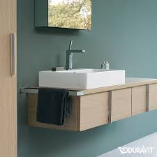 duravit vero countertop washbasin white with wondergliss with 1