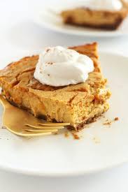 Pumpkin Pie With Gingersnap Crust Gluten Free by Vegan Pumpkin Cheesecake Minimalist Baker Recipes