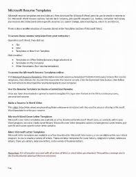 Word Resume Template Free Unique Creative Templates Luxury Awesome Examples Resumes