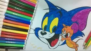 Coloriage À Imprimer De Tom Et Jerry Meilleur Design Dessins De