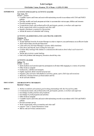 Activity Leader Resume Samples | Velvet Jobs High School Resume 2019 Guide Examples Extra Curricular Acvities On Your Resume Mplate Job Inquiry Letter Template Fresh Hard Removal Best Section Beefopijburgnl Cover For Student 8 32 Cool Co In Sample All About Professional Ats Templates Experienced Hires And College For Application Of Samples Extrarricular New Professional Acvities Sazakmouldingsco Career Center Rochester Academy