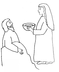 Jael And Sisera Coloring Page