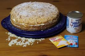 saftige milchmädchen sahne torte