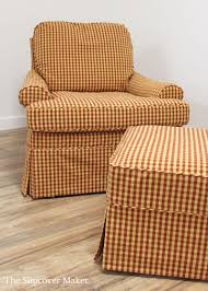 Custom Gingham Slipcovers For Welsey Hall Chair | The ... Sure Fit Ballad Bouquet Wing Chair Slipcover Ding Room Armchair Slipcovers Kitchen Interiors Subrtex Printed Leaf Stretchable Ding Room Yellow 2pcs Ektorp Tullsta Chair Cover Removable Seat Graffiti Pattern Stretch Cover 6pcs Spandex High Back Home Elastic Protector Red Black Gray Blue Gold Coffee Fortune Fabric Washable Slipcovers Set Of 4 Bright Eaging Accent And Ottoman Recling Queen Anne Wingback History Covers Best Stretchy Living Club For Shaped Fniture