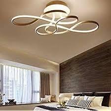 modern wohnzimmer led deckenleuchte dimmbar mit