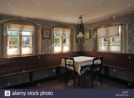 wohnzimmer einem fachwerk bauernhaus ca 1910