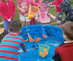 Pretend Play Fishing For A Preschool Camping Theme