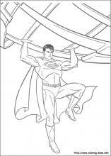 Superman Coloring Pages On Book