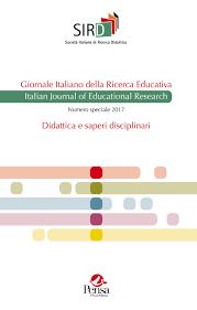 Giornale Italiano Della Ricerca Educativa