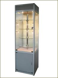 Decoration Small Wall Mounted Display Cases Standing For