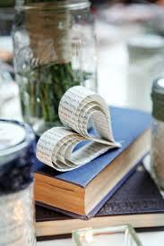 Have A Heart Book Wedding CenterpiecesWedding DecorWedding IdeasVintage
