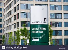 100 West Village Residences Central Sign For Student Accommodation On Campus