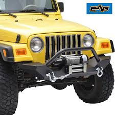 100 Front Bumpers For Trucks Amazoncom EAG 9706 Jeep Wrangler TJ Bumper With 2x Dring