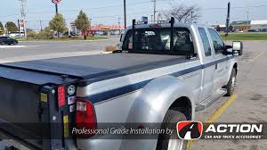 Cab Guard By Backrack Inc. With Riser Kit To Accommodate The Tonneau ...