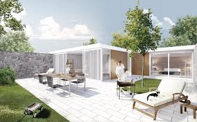 100 House Patio Gallery Of Being Home Being Development 14